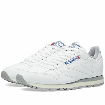 da0d00fa3ab66d Reebok Classic Leather R12 Men s Trainers Running Shoes Sneakers M42845  White