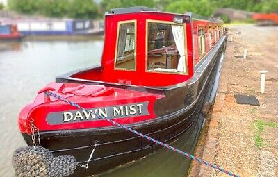 8 Berth 5 Star Acredited Canal Boat Holiday Warwickshire Ring Midlands