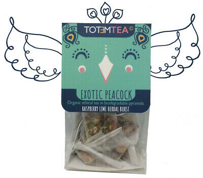 Plastic Free Tea Bags Organic Hand Prepared in UK 12 Flavours to choose from