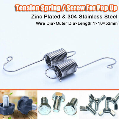 Expansion Tension Hook Spring / Screw Nut For Pop Up Roll Up Exhibition Display