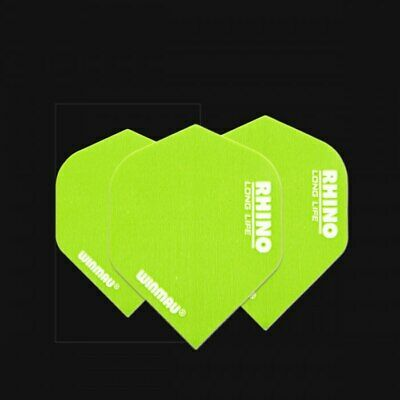 Winmau Rhino Super Thick dart flights green