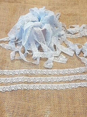 Narrow Vintage Style Crochet Lace Trimming HCL4840-T7-M LL per 2 metres