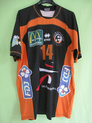 Maillot Volley Ball Narbonne Porté #14 ERREA Shirt jersey - XL