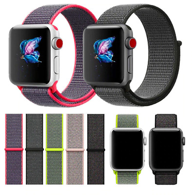 Cinturini strap sport loop in nylon Apple Watch serie1-2-3-4  42/44mm