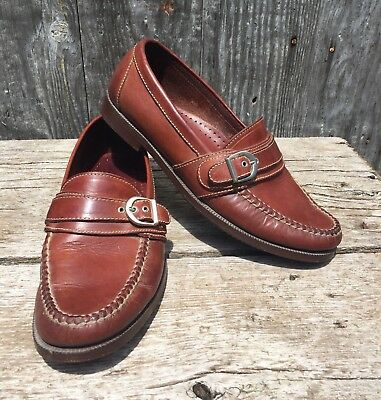 ad41cbbebdd Cole Haan Country Loafers Moc Toe Casual Buckle Slip On Shoes Mens 8.5 M  1129