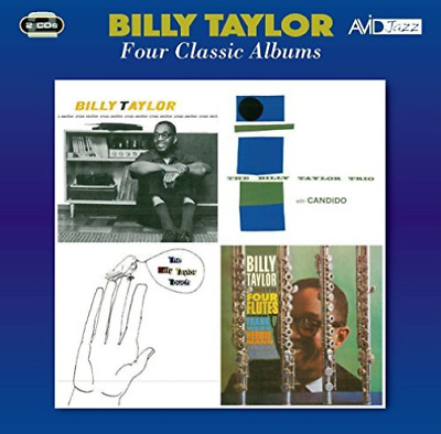 Billy Taylor-Four Classic Albums (Cross Section / The Billy Tay Cd New