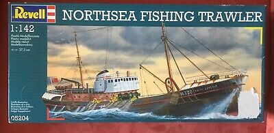 Revell 1:142 Northsea Fishing Trailer Modelbausatz Ovp 1998