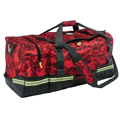 Ergodyne Arsenal 5008 Fire & Safety Gear Bag, Red Camo, 13008, NEW, FREE SHIP