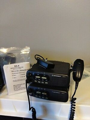 """GMRS Ham prepper 30w CDR700 UHF 4ch. Repeater """"S"""" split 450-512mHZ & free prog."""