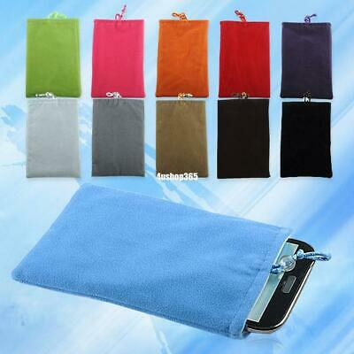 Soft Velvet Cloth Pocket Purse Case Pouch For Mobile Phone Cellphone 5301771