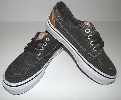 VANS BOYS ATHLETIC Shoes Youth Size 5 Gray Lace Up Sneakers -  33.00 ... 981300a4a