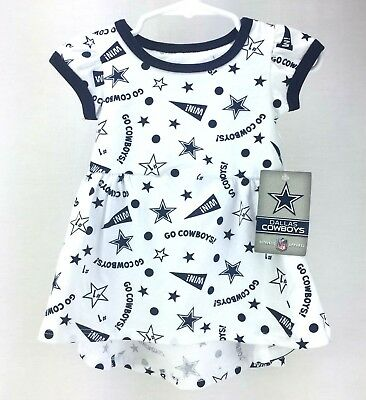 faa6b9ffb DALLAS COWBOY S INFANT Toddler Cheerleader Outfit skirt included ...