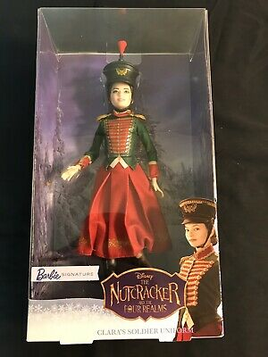 Barbie Doll Disney Nutcracker and the Four Realms Clara's Soldier Uniform NEW