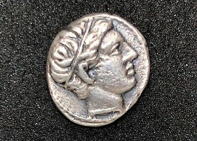 ANCIENT GREECE PHILIP II OF MACEDON 359-336 B.C. SILVER COIN 1.82gr 13.1mm /808/