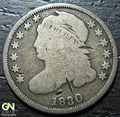 1830 Capped Bust Dime  --  MAKE US AN OFFER!  #W3675 ZXCV
