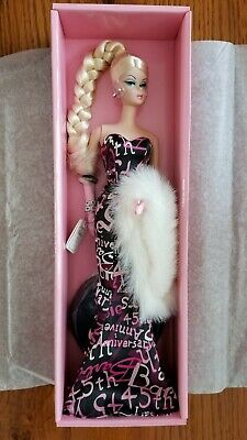 45th Barbie Anniversary. Fashion Model Collection. 2003. NRFB. No box top