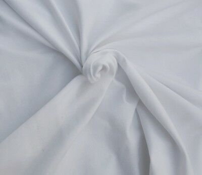 f3941b05cfa TENCEL COTTON LYCRA Fabric Jersey Knit by the Yard Off White Dyeable ...