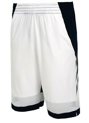 Adidas Men Pro Bounce Shorts Basketball Training Pants White Bottom Pant DU1672