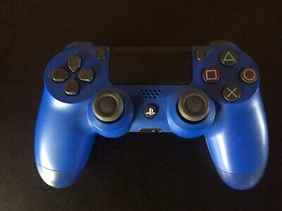 Official Sony PlayStation 4 PS4 Dualshock 4 Wireless Controller (Wave Blue) used