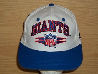 Vintage New York GIANTS Pro Line NFL Authentic Logo Athletic Snapback Hat  Cap e1f57b643