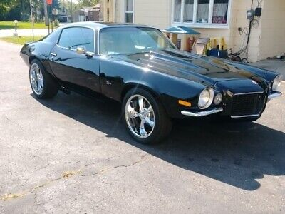 1973 Camaro -468 BIG BLOCK/4SPD-10 BOLT-NICE COLOR-PRO TOURING Black Chevrolet Camaro with 0 Miles available now!