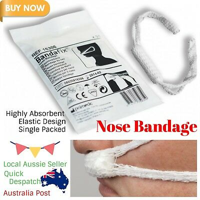 Nose Bandage Wound Absorbent Gauze Dressing Cosmetic Sinus Nose Surgery 2 PCS
