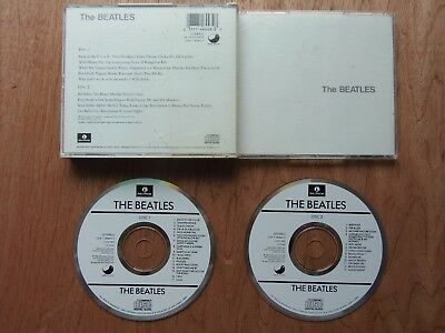 The Beatles [White Album] by The Beatles (CD, Aug-1988, 2 Discs, Capitol)