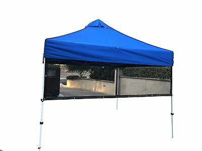Half Sun Shade Side-Wall Screen Panel for 10' Instant Pop Up Canopy Tent Shelter