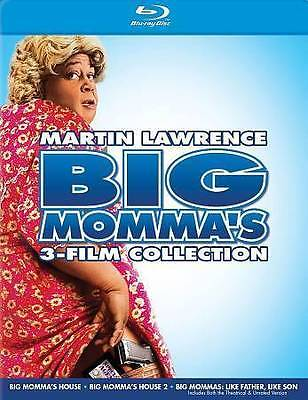 Big Mommas Collection (Blu-ray Disc, 2014, 3-Disc Set)