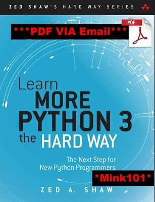 [PDF] Learn Python 3 the Hard Way A Very Simple Introduction to the Terrifyingly
