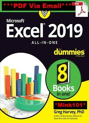 Excel 2019 All-in-One For Dummies 2019 - PDF