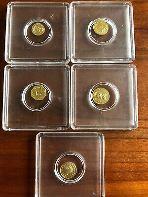 1/2 Gold Coin Lot