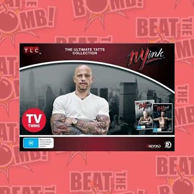 NY Ink: The Ultimate Tatts Collection  - DVD - NEW Region 4