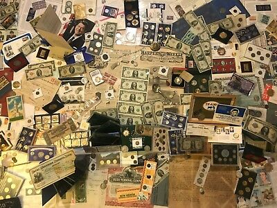 ✯Huge Collection Estate Coin Lot ✯ Gold Silver ✯Old Sets Bullion Morgan Dollars✯