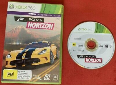 Forza Horizon Game for Xbox 360 PAL and Xbox One Compatible!