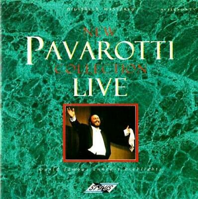 LUCIANO PAVAROTTI - New Pavarotti Collection Live (CD 1988) EXC