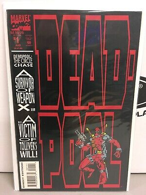 DEADPOOL: THE CIRCLE CHASE #1  KEY MARVEL BOOK FIRST 1st SOLO TITLE