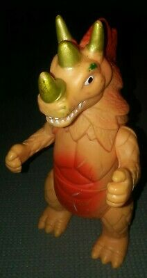 Japanese Style Monster action Figure vinyl plastic  No Markings Preowned