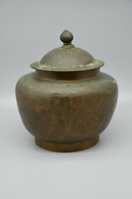 RARE Antique Chinese Export Etched Dragon Urn from the late-1800's -early 1900's