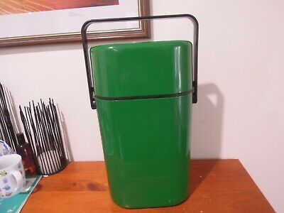 Vintage Retro DECOR Wine Drinks Water Cooler, Green
