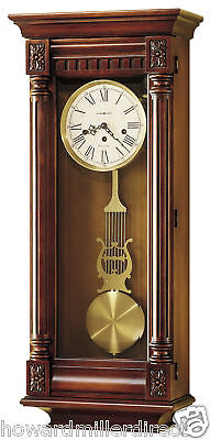 Howard Miller 620-196 New Haven - Chiming Cherry Wall Clock - 620196
