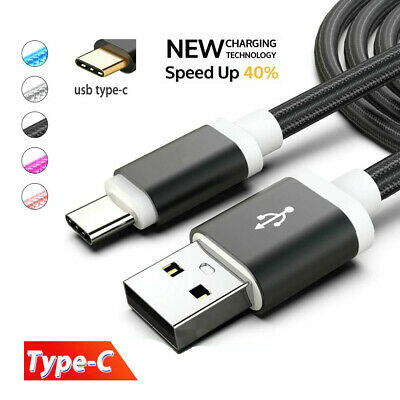 Type-C 3.1 USB-C Data Sync 1.5m Braided Nylon Charging Cable Charger Cord