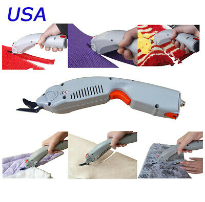 INTBUYING Electric Fabric Scissors Cutter Shears Clipper 110V No Battery