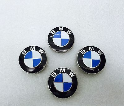 BMW Wheel Centre Caps 68mm,10 clips, x4, 1 3 5 6 7 Series E90 E34 E46 X5