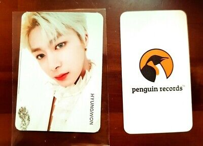MONSTA X - 2nd ALBUM TAKE.2 WE ARE HERE HYUNGWON PHOTO CARD - 3