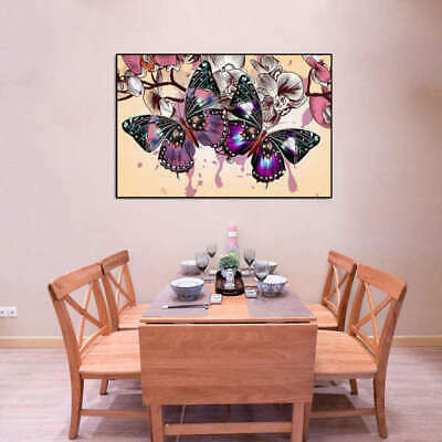 Unframed Modern Oil Painting Print Canvas Picture Colorful DIY Wall Decoration