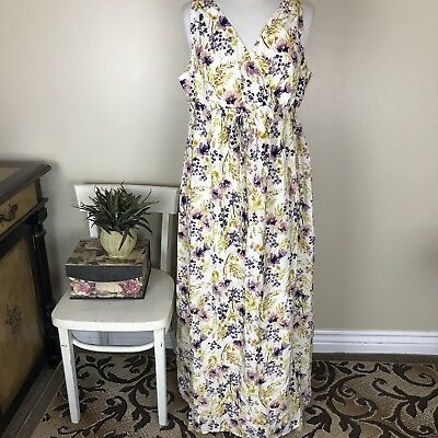 9b8febaaee9dc OLD NAVY MATERNITY Fitted Maxi Dress-Size M - $6.50 | PicClick