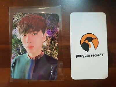 MONSTA X - 2nd ALBUM TAKE.2 WE ARE HERE KIHYUN PHOTO CARD - 1
