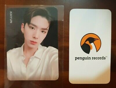 MONSTA X - 2nd ALBUM TAKE.2 WE ARE HERE KIHYUN PHOTO CARD - 5
