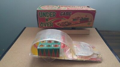 Vintage 1950-60S Louis Marx Over And Pinball Game In Original Box